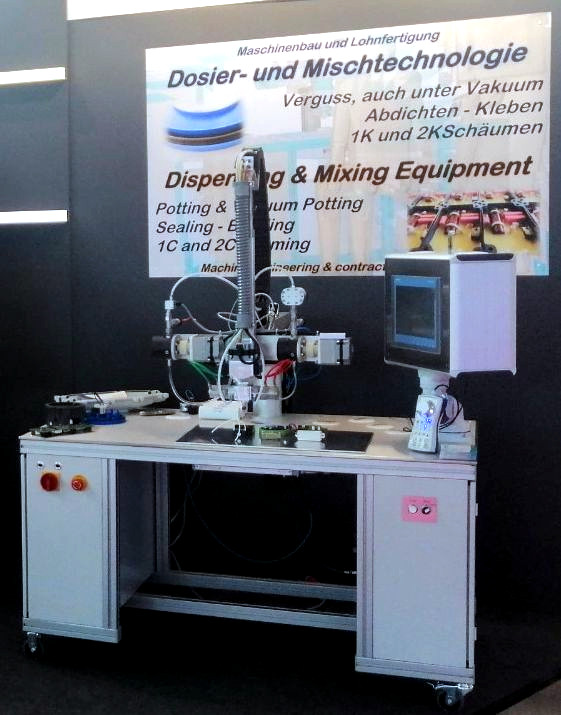 Vacuum Potting Machine Mixaply